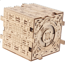 Scriptum Cube - Wooden DIY Puzzle Box Kit -
