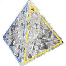 Crystal Pyraminx 50th Anniversary Limited Edition - Meffert's Rotational Puzzles
