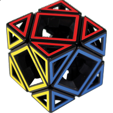 Hollow Skewb Cube - Meffert's Rotational Puzzles