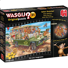 Wasgij Original #31: Safari Surprise! -