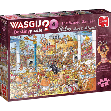 Wasgij Destiny Retro #4: The Wasgij Games! -