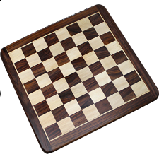 16 Inch Rosewood Chess Board - Minor Imperfections - Chess Boards