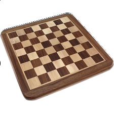 10 Inch Shisham Chess Board - Minor Imperfections - Games & Toys