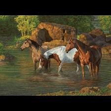 Horse Pond - Large Piece -