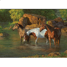 Horse Pond - Large Piece -