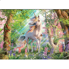 Unicorn In The Woods - Large Piece -