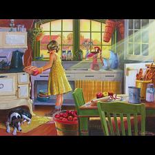 Apple Pie Kitchen - Large Piece - 500-999 Pieces