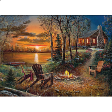 Fireside - Large Piece -