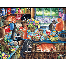 In A Garden Shed - Large Piece Jigsaws