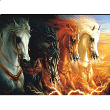 The Four Horses of the Apocalypse - 1001 - 5000 Pieces