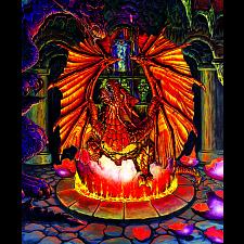 Birth of a Fire Dragon -