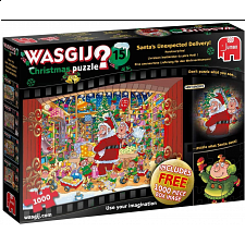 Wasgij Christmas #15 : Santa's Unexpected Delivery -