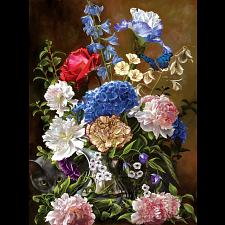 Bouquet in Blue -
