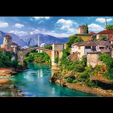 Old Bridge in Mostar, Bosnia and Herzegovina -