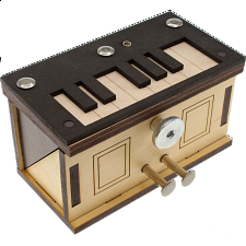 Piano Box - Wooden Puzzle Boxes