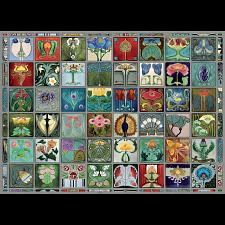 Art Nouveau Tiles -