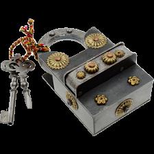 15 Step Extreme - 2 Key Puzzle Lock -