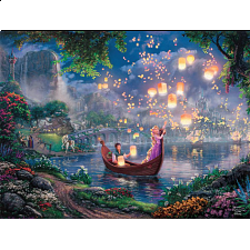 Thomas Kinkade: Disney - Tangled -
