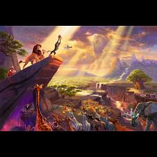 Thomas Kinkade: Disney - Lion King - Large Piece -