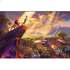 Thomas Kinkade: Disney - Lion King - Large Piece - 101-499 Pieces