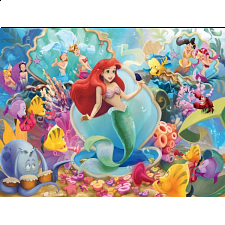 Disney Princess: Ariel and Friends - Large Piece -