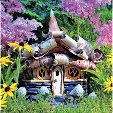 Fairy Houses: Alpine - Large Piece -