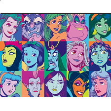 Disney Princess: Collage - Large Piece -