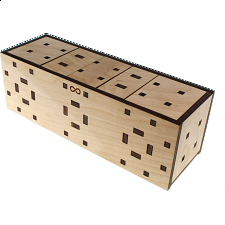 Altair Puzzle Box - Wood Puzzles
