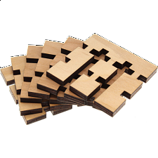 Inversion Cube Puzzle - 3D Wooden Puzzles