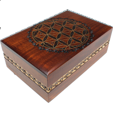 Geometric Design Puzzle Box -