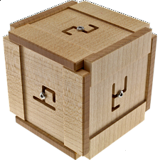 Rune Cube - Limited Edition - Wooden Puzzle Boxes