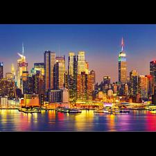 Manhattan at Night -
