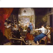 The Spinners, Velázquez -