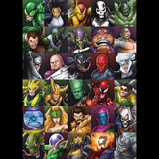 Marvel Villains Collage -