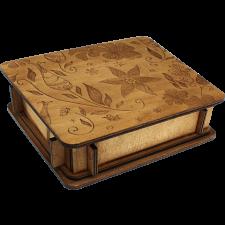 Button Puzzle Box -
