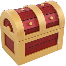 Treasure Chest Puzzle Box -