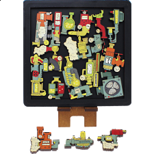Experiment - Wooden Packing Puzzle -