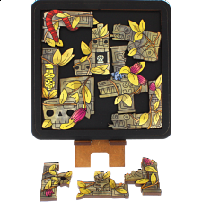 Ruins - Wooden Packing Puzzle -