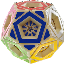 Skewby Multi-Dodecahedron Cube - Original Plastic Body -