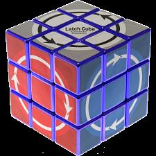 Latch Cube - Metallized Purple Body -