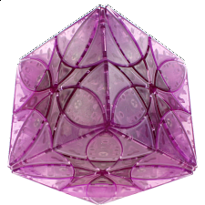 Butterflower Cube DIY - Ice Purple Body (Limited Edition) -