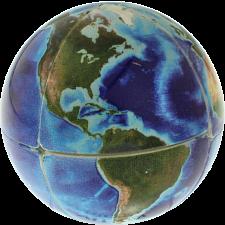Earth 2x2x2 Cube -