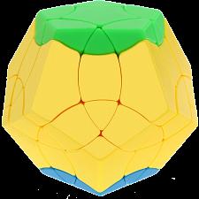 BaiNiaoChaoFeng Megaminx - Stickerless (green-yellow-blue) -