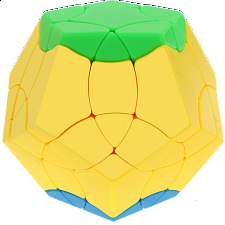 BaiNiaoChaoFeng Megaminx - Stickerless (green-yellow-blue) -