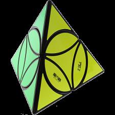 Disc Pyraminx - Black Body -