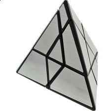 Ghost Pyramid - Black Body with Silver Stickers -
