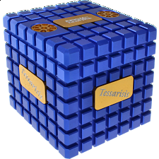 Extreme Tessarisis Puzzle - Blue and Gold (with Tarka) -