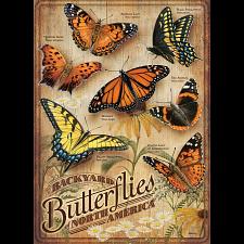 Backyard Butterflies - Large Pieces -