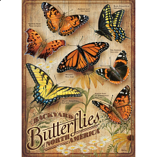 Backyard Butterflies - Large Pieces -