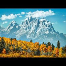 Grand Teton in Fall -